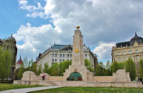Budapest, Hungary Liberty Square Monument JetSettingFools.com