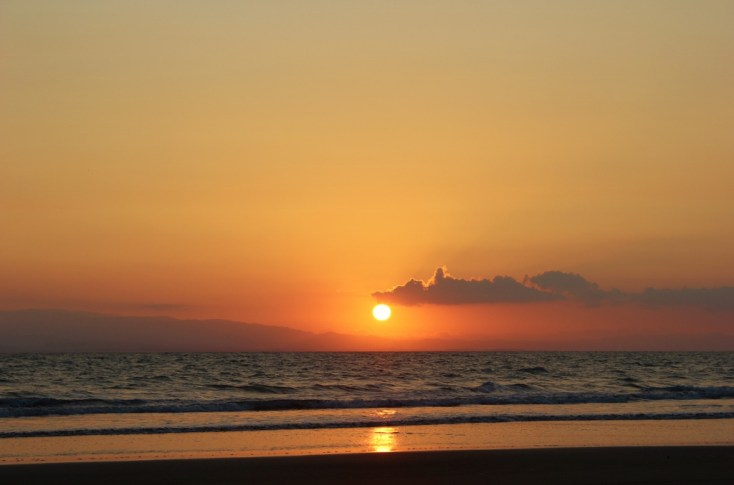 Sunsets are part of nature in Costa Rica