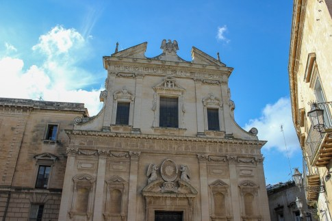 Church of Jesus in Lecce, Italy