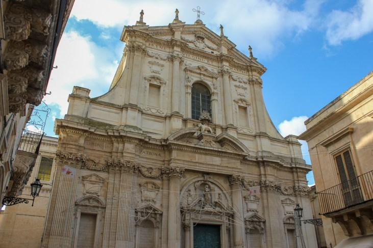 Church of Saint Irene in Lecce, Italy
