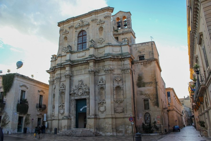 Church of Saint Clair in Lecce, Italy