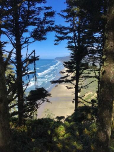 Hobbit Beach View, Oregon Coast