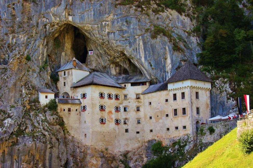 Predjama Cave Castle in Slovenia