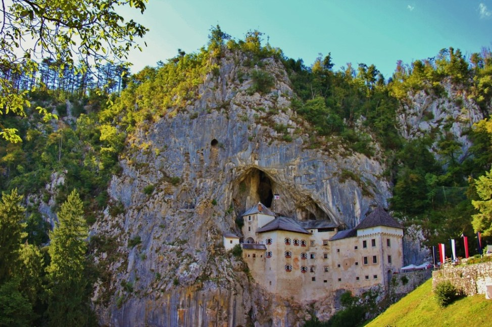 The cliff and cave castle, Predjama, iin Slovenia
