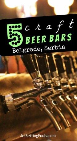 5 Craft Beer Bars in Belgrade, Serbia