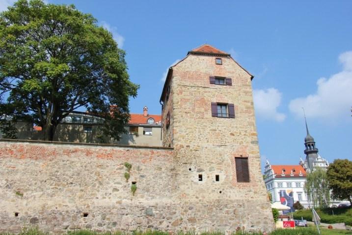 Jewish Defense Tower in Old Jewish Quarter in Lent District, Maribor, Slovenia