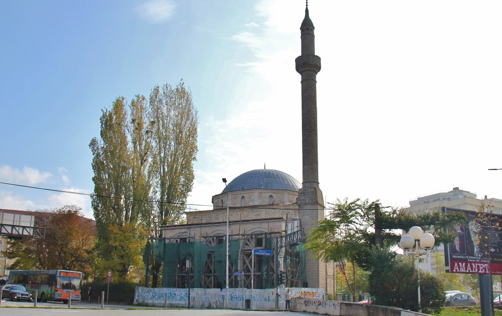 Carshi Mosque (Xhamia e Carshise) in Prishtina, Kosovo