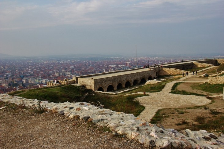 Inside Prizren Fortress in Prizren, Kosovo