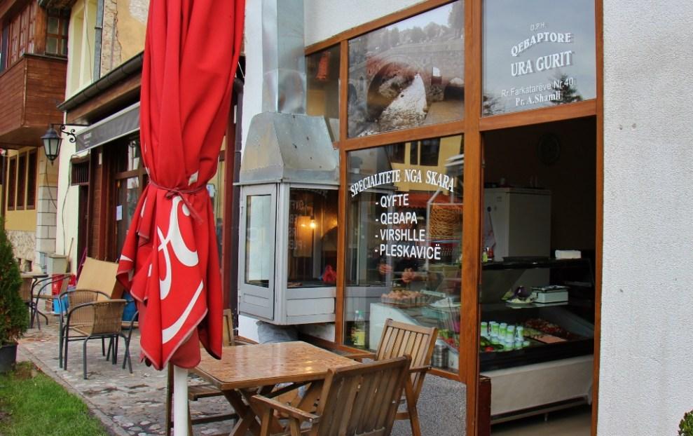 A Qebabtore Grill in Prizren, Kosovo