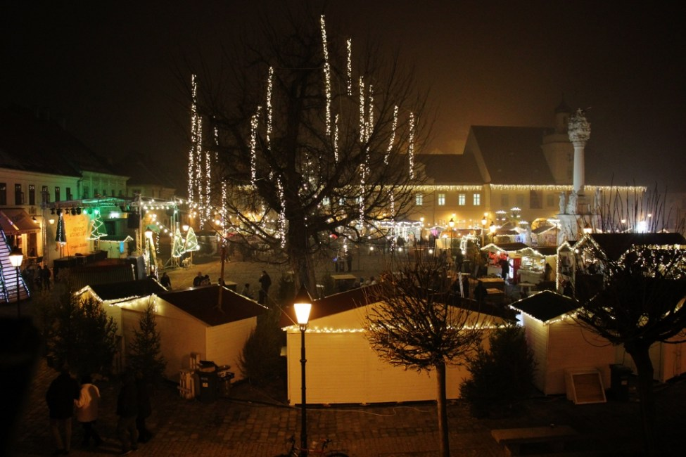 Advent u Tvrdi Christmas Festival in Osijek, Croatia