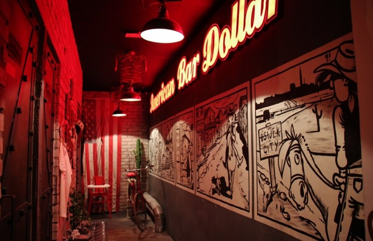 American Bar Dollar in Osijek, Croatia