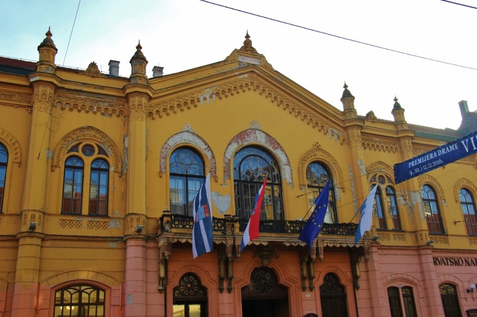 Croatian National Theatre, Osijek, Croatia