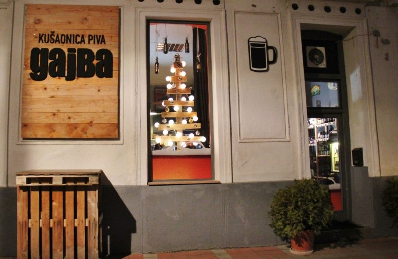 Gajba Craft Beer Bar in Osijek, Croatia