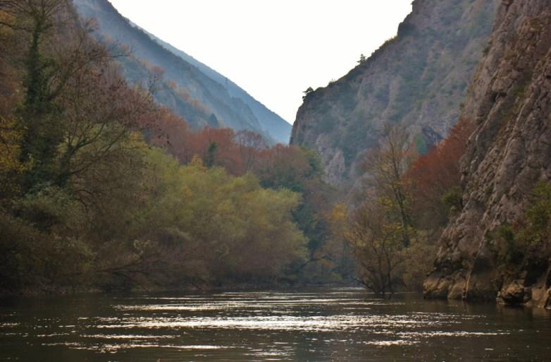 Autumn at Matka Canyon, Skopje, Macedonia