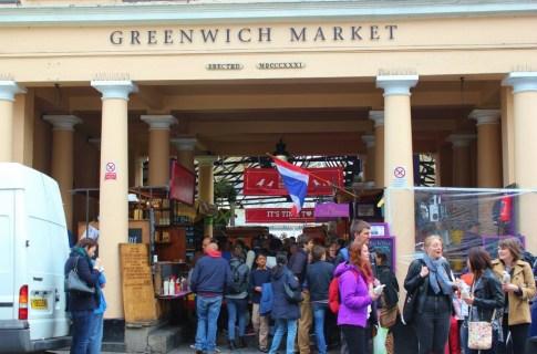 Entrance to Greenwich Market, London, England, jetsettingfools.com