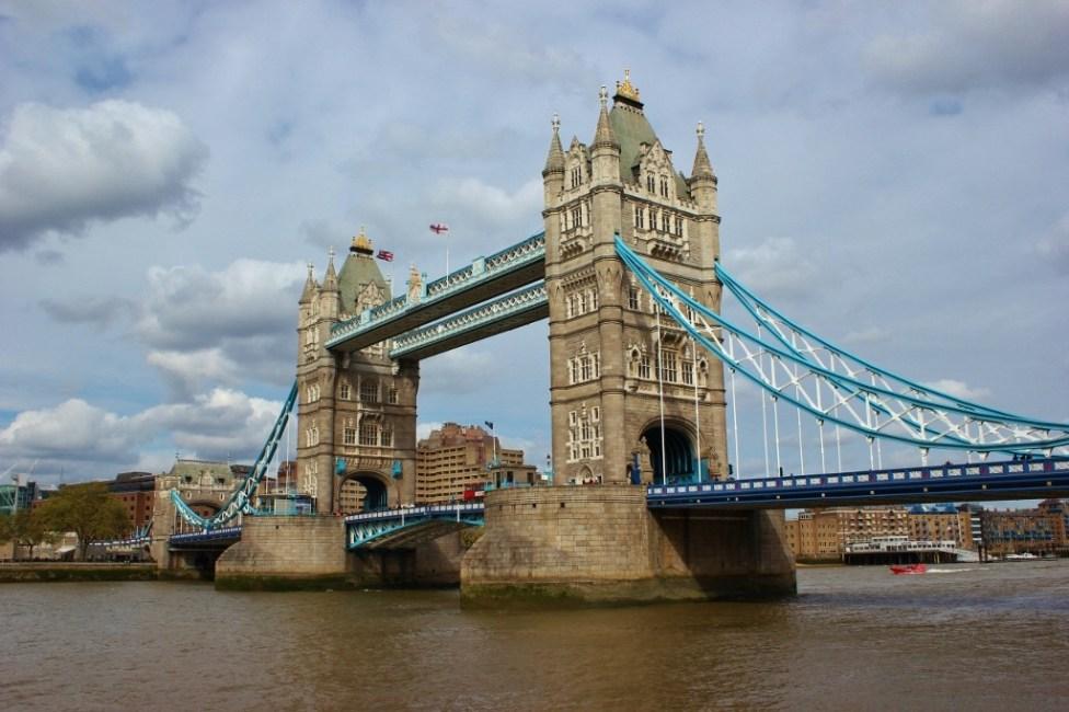 Tower Bridge in London, England, jetsettingfools.com