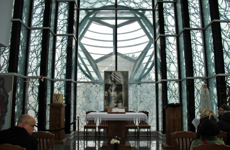 Chapel inside Memorial House of Mother Teresa, Skopje, Macedonia