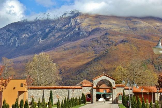 Autumn at St. Naum Monastery, Lake Ohrid, Macedonia