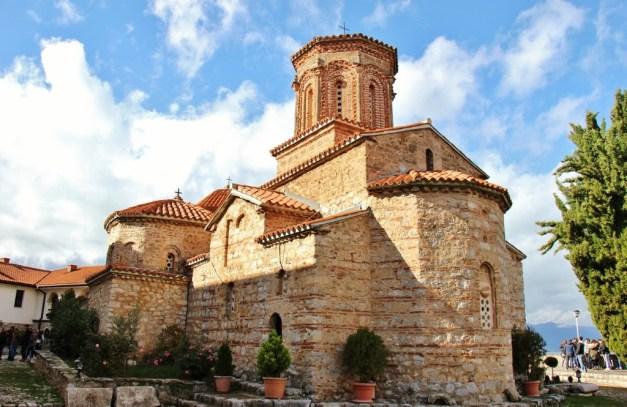 St. Naum Monastery Church, Lake Ohrid, Macedonia