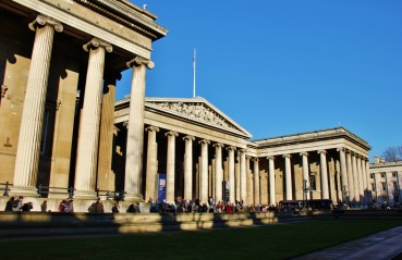 The British Museum Building, London, England, jetsettingfools.com