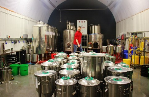 UBREW Brewery classroom, Bermondsey Beer Mile, London Craft Beer Crawl