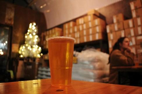 Pint of Beer at UBREW Taproom, Bermondsey Beer Mile, London Craft Beer Crawl