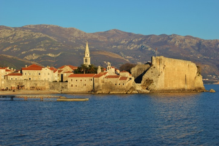 City of Budva, Montenegro