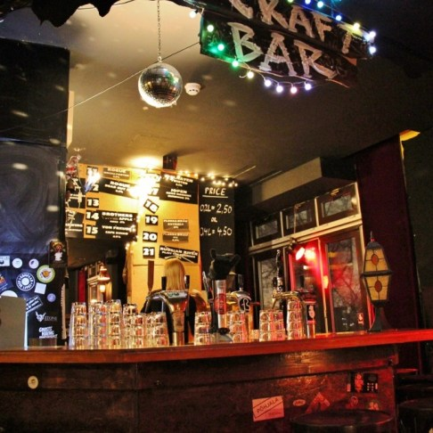 Bar at Castle Pub Craft Beer Bar in Berlin, Germany