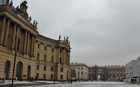 Humbolt University on Bebelplatz Square in Berlin, Germany