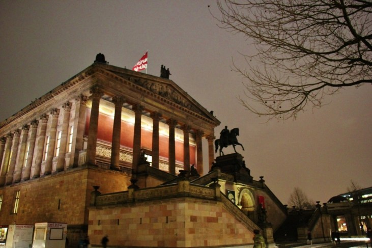 The Alte Nationalgalerie Museum on Museum Island in Berlin, Germany