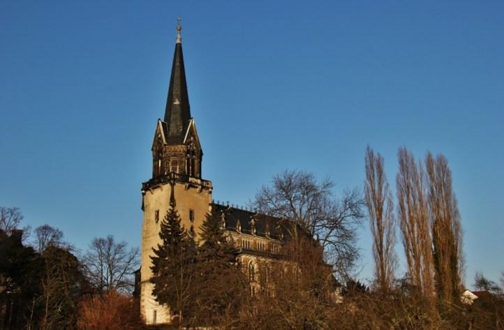 Church in Alkotzschenbroda near Dresden, Germany