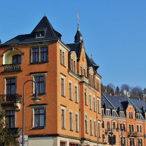 Historic Loschwitz near Dresden, Germany