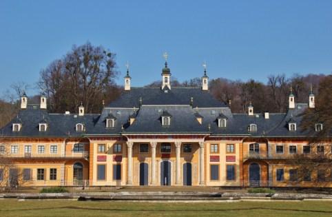 Pillnitz Schloss Castle and Park in Dresden, Germany