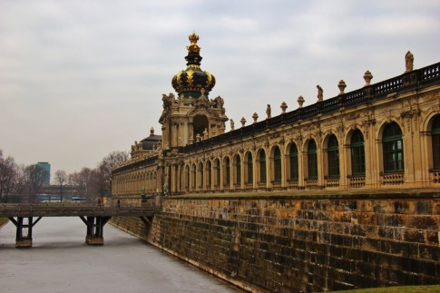 Zwinger museums in Dresden, Germany