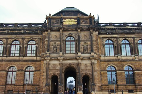 Gemaldegalier alte Meister Old Masters Picture Gallery at Zwinger in Dresden, Germany