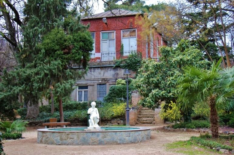 Fountain at National Botanical Garden of Georgia, Tbilisi, Georgia