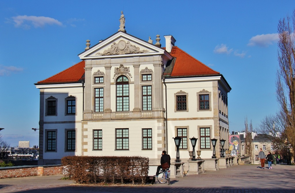 Ostrogski Castle and Fryderyk Chopin Museum in Warsaw, Poland