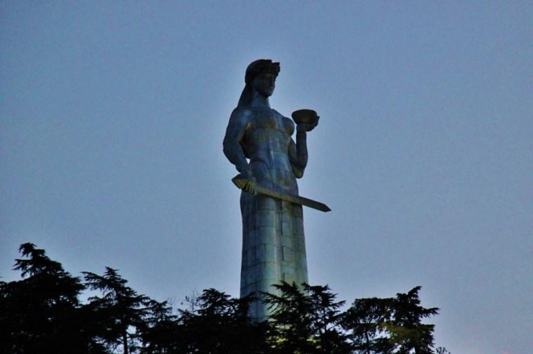 Iconic Mother of Georgia statue, Tbilisi, Georgia