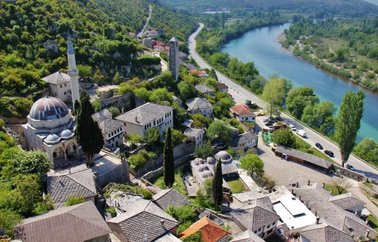 Village of Pocitelj near Mostar, Bosnia-Herzegovina