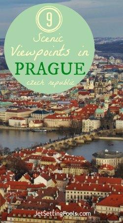 9 Scenic Viewpoints in Prague, Czech Republic, JetSettingfools.com