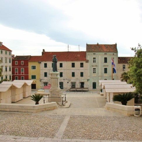 Kacic Square, Makarska, Croatia