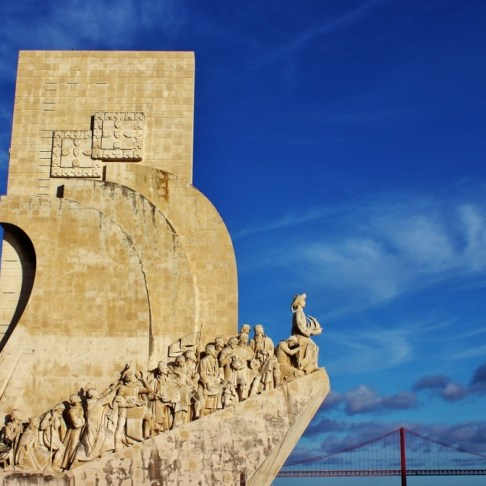 Discoveries Monument in Belem, Lisbon, Portugal
