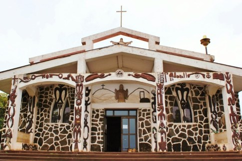 Easter Island Catholic Church, JetSettingFools.com