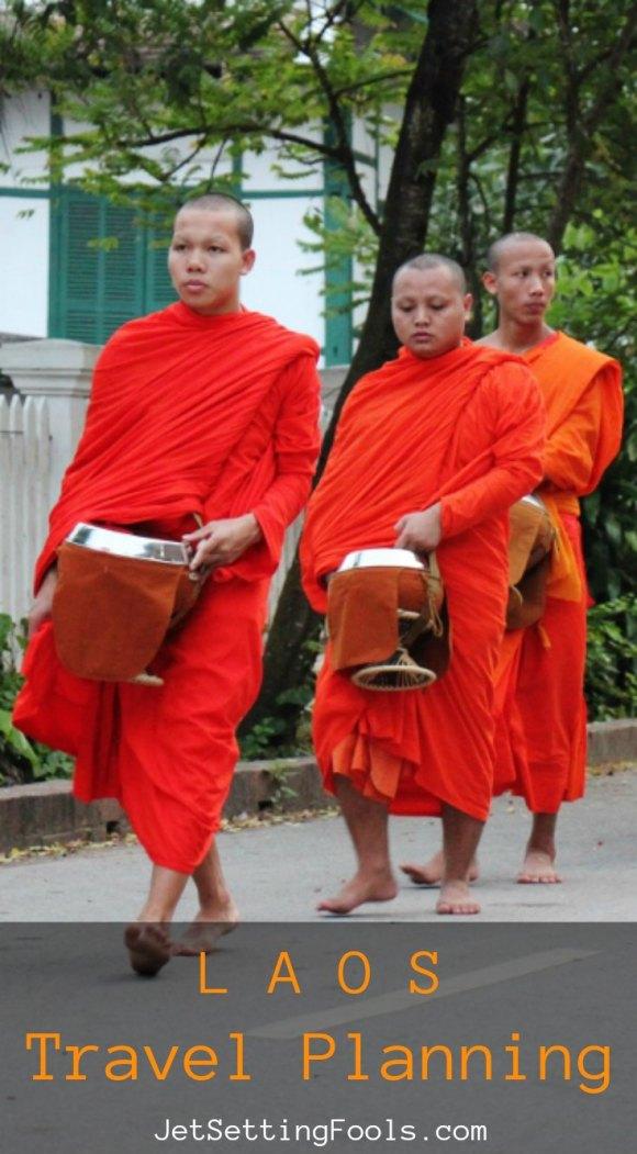 Laos Travel Planning by JetSettingFools.com