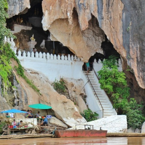 Pak Ou Caves, Buddha Caves, Mekong River, Laos