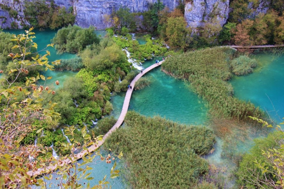 Plitvice Lakes National Park in Autumn, Croatia
