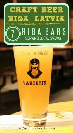 Craft Beer Riga Latvia Riga Bars Serving Local Brews by JetSettingFools.com