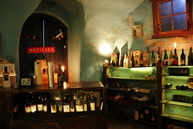 Artifacts on display at Luscher and Matiesen Museum of Estonian Drink Culture in Tallinn, Estonia