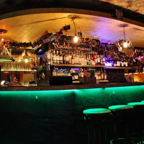 Omas Briljants bar in Riga, Latvia