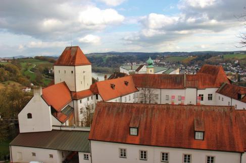 Veste Oberhaus Castle, Passau, Germany